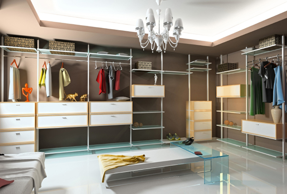 The Well-Organized Woman - Organizing Walk-in Closets