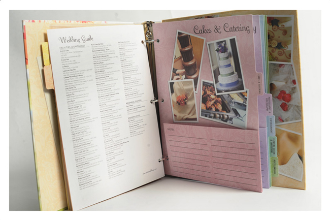 Wedding Planning Binder Categories