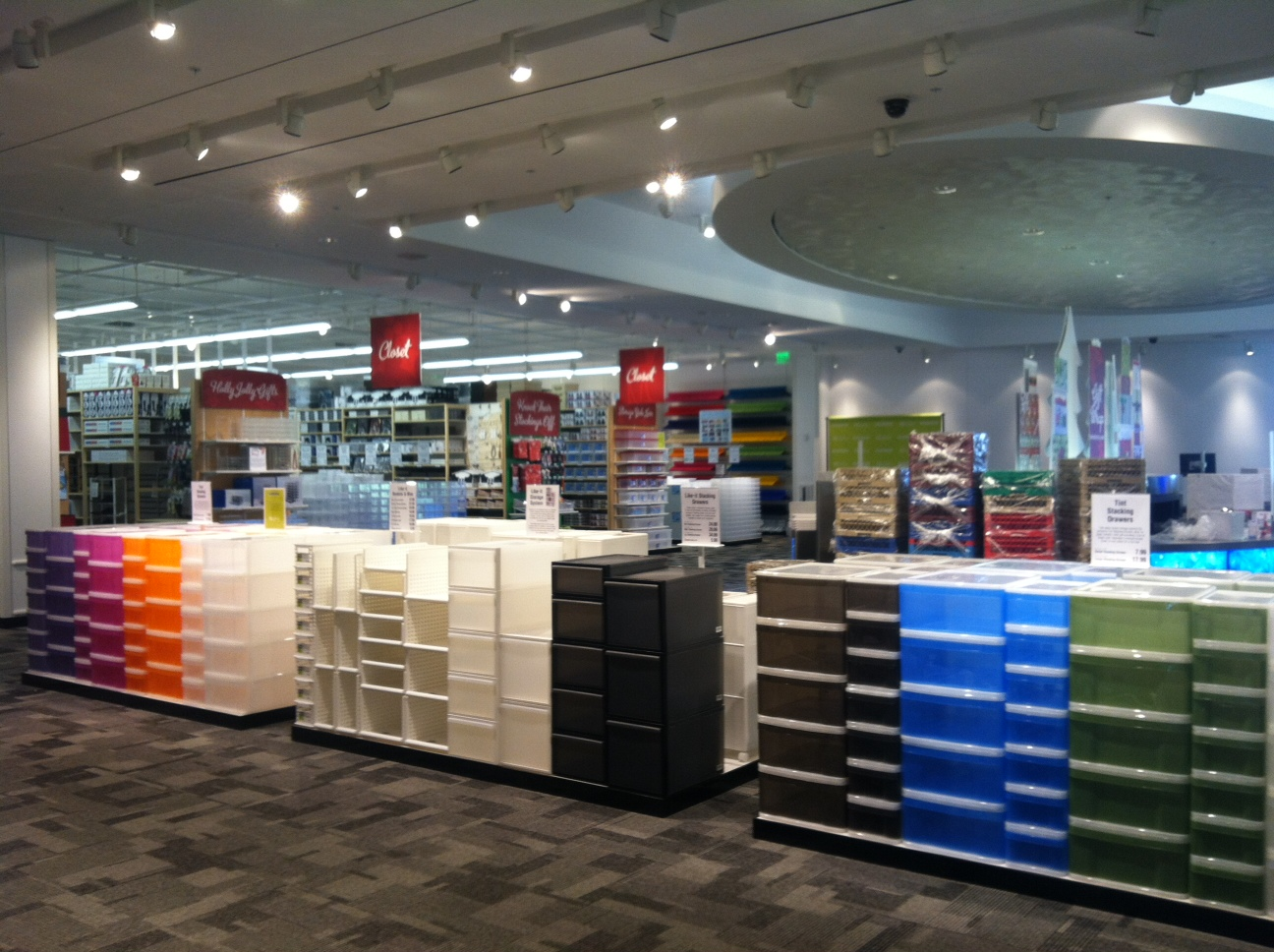 The container store buckhead reopens in new location claire kurtz is the well organized woman - Container store home ...